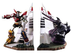 toynami voltron lion force bookends polystone