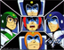 voltron good guys sticker measures approximately