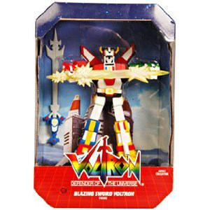 Mattel Voltron Sdcc 2011 San Diego Comic Con Exclusive Action Figure Blazing Sword Voltron
