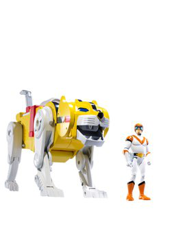 Mattel Voltron Exclusive Action Figure Yellow Lion Hunk Packaged Together In White Collector Box !