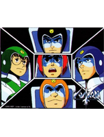 Voltron Good Guys Sticker